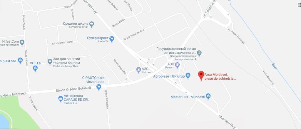 Adresa magazinului de piese de schimb pentru combinele agricole - Alvar Service - foto