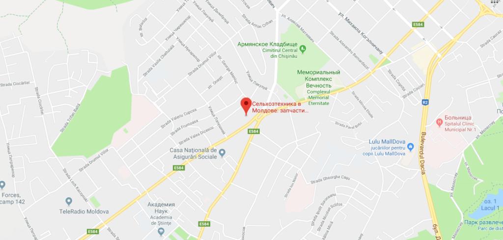 Adresa oficiului central al companiei - ALVAR SERVICE SRL - foto