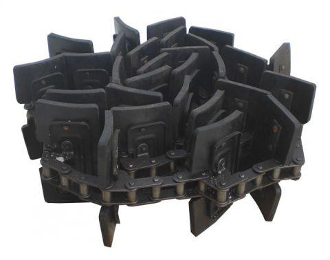 Cepi jelevatora, cep' transportjora naklonnoj kamery kombajna v moldove foto