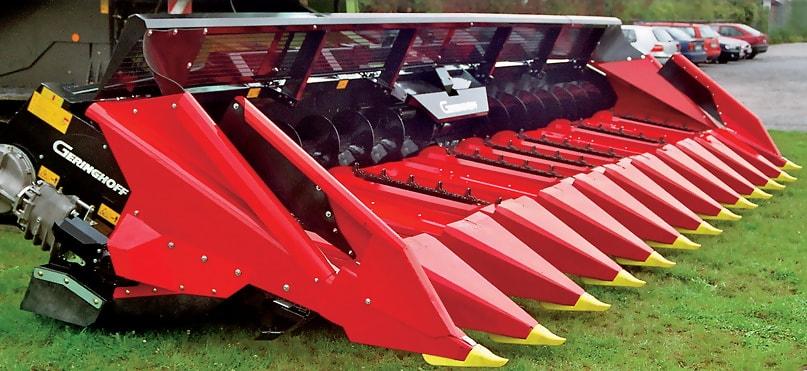 zapceasti dlea kukuruznih jatok Orosh, Gerringhoff - foto
